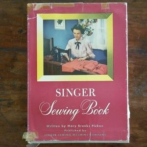 Vintage 1949 Hardcover Singer Sewing Book